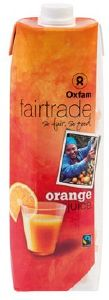 Jus de fruits équitable Orange abc Oxfam brique 1L x 12